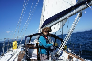 Glenda At The Helm