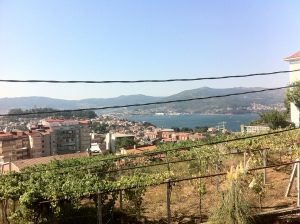 View from Jose's house overlooking Ria Vigo